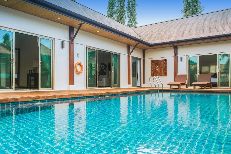 VW8   Oriental Layan 2BR Pool Villa Full Kitchen
