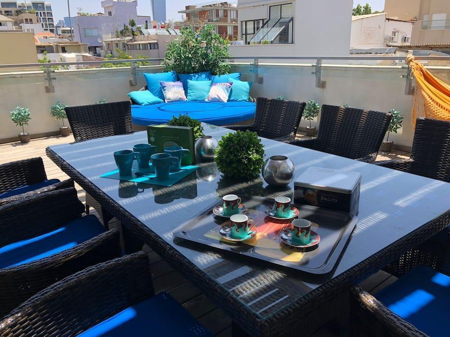Trust Inn  Kerem Hatemanim Duplex Rooftop AndParking