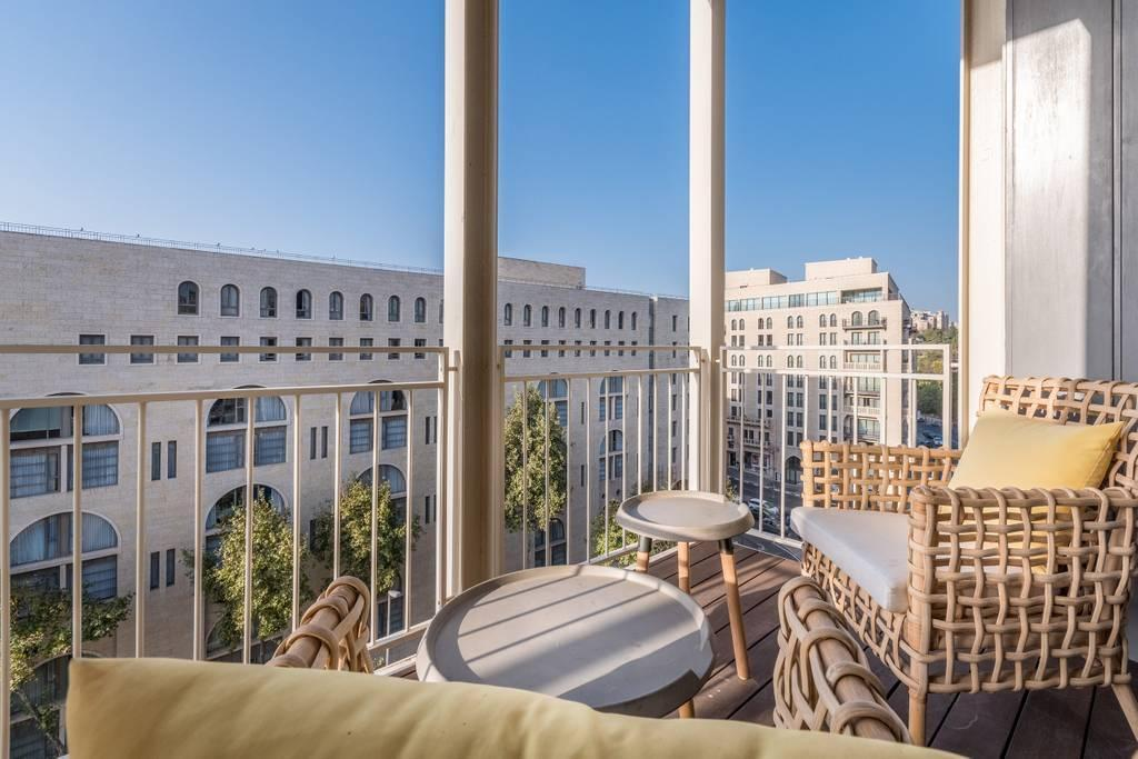 Trust Inn Luxury Mamilla Residence Balconies Old City View