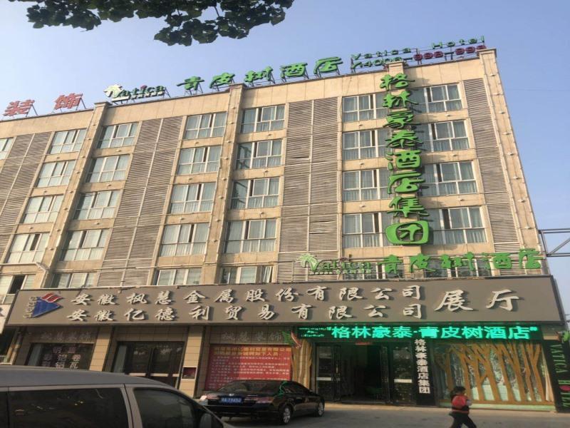 Vatica Jieshou City New Passenger Transport Center Hotel