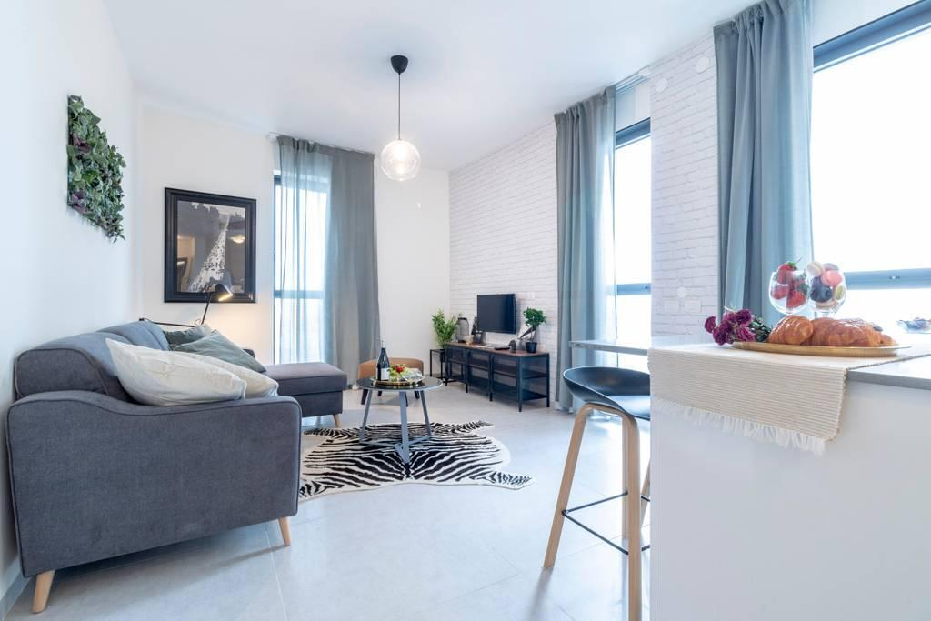 Very Modern 1 Bedroom In Heart Of Jerusalem