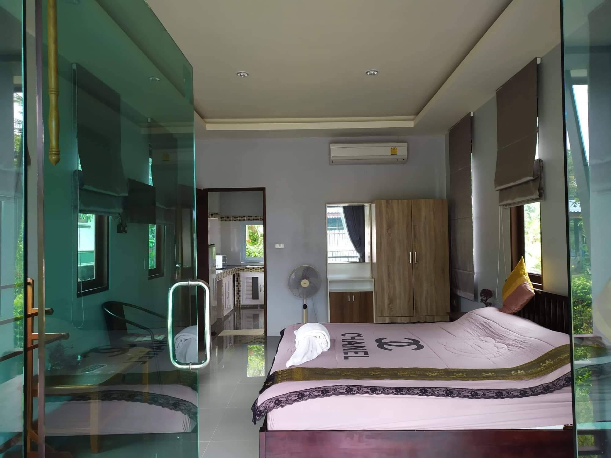 New Modern Style One Bedroom House in Sri Thanu บ้านเดี่ยว 1 ห้องนอน 1 ห้องน้ำส่วนตัว ขนาด 100 ตร.ม. – หาด เจ้า เภา