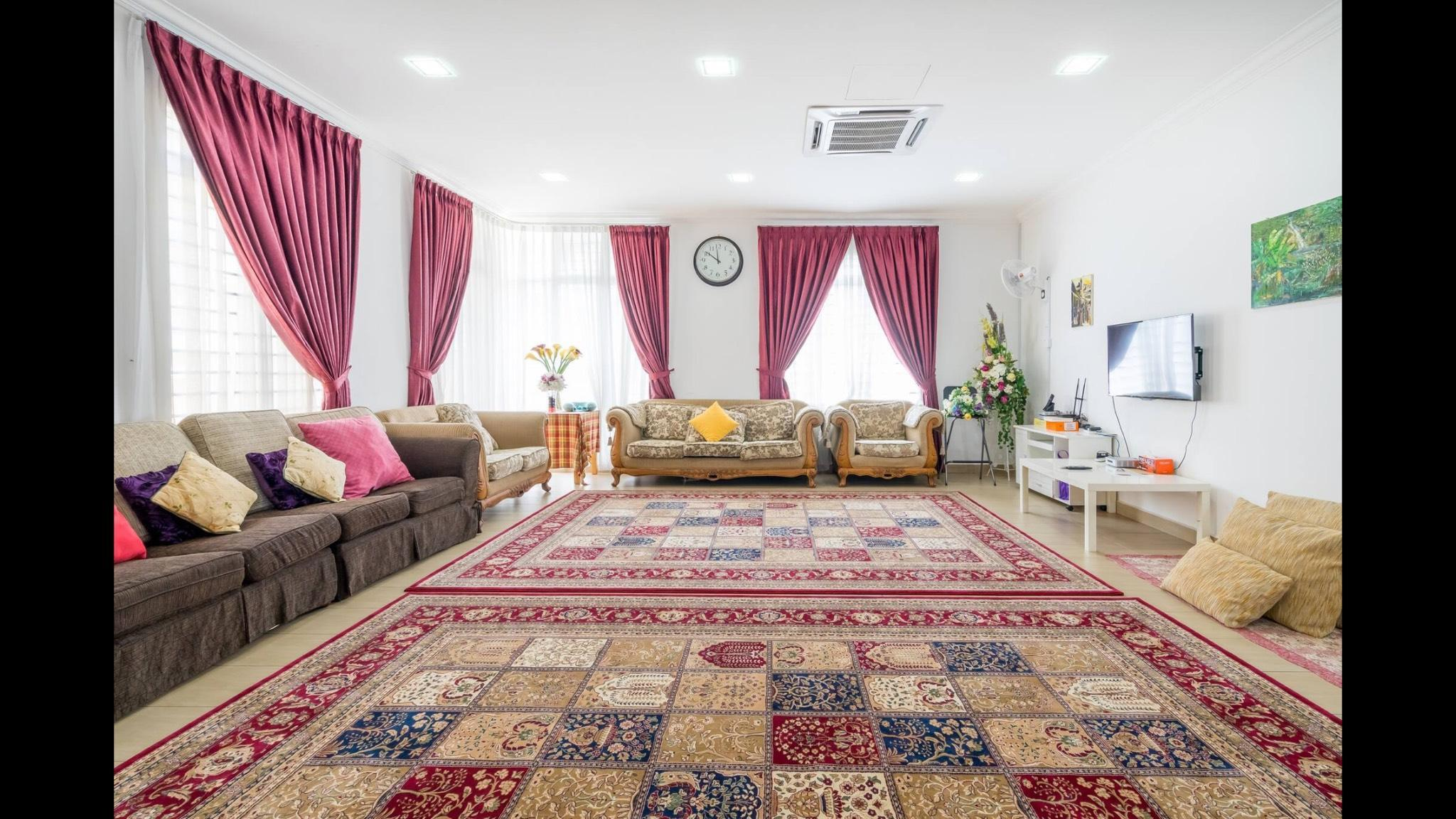 4B4R Spacious Semi D House For Family