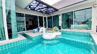 [チャアム]ヴィラ(400m2)| 4ベッドルーム/3バスルーム Friend home pool villa