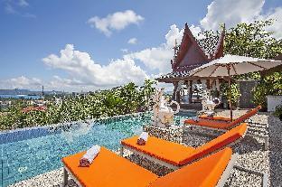 [スリン]ヴィラ(800m2)| 4ベッドルーム/4バスルーム Beachside Paradise Villa 4BR w/ Pool & Breakfast