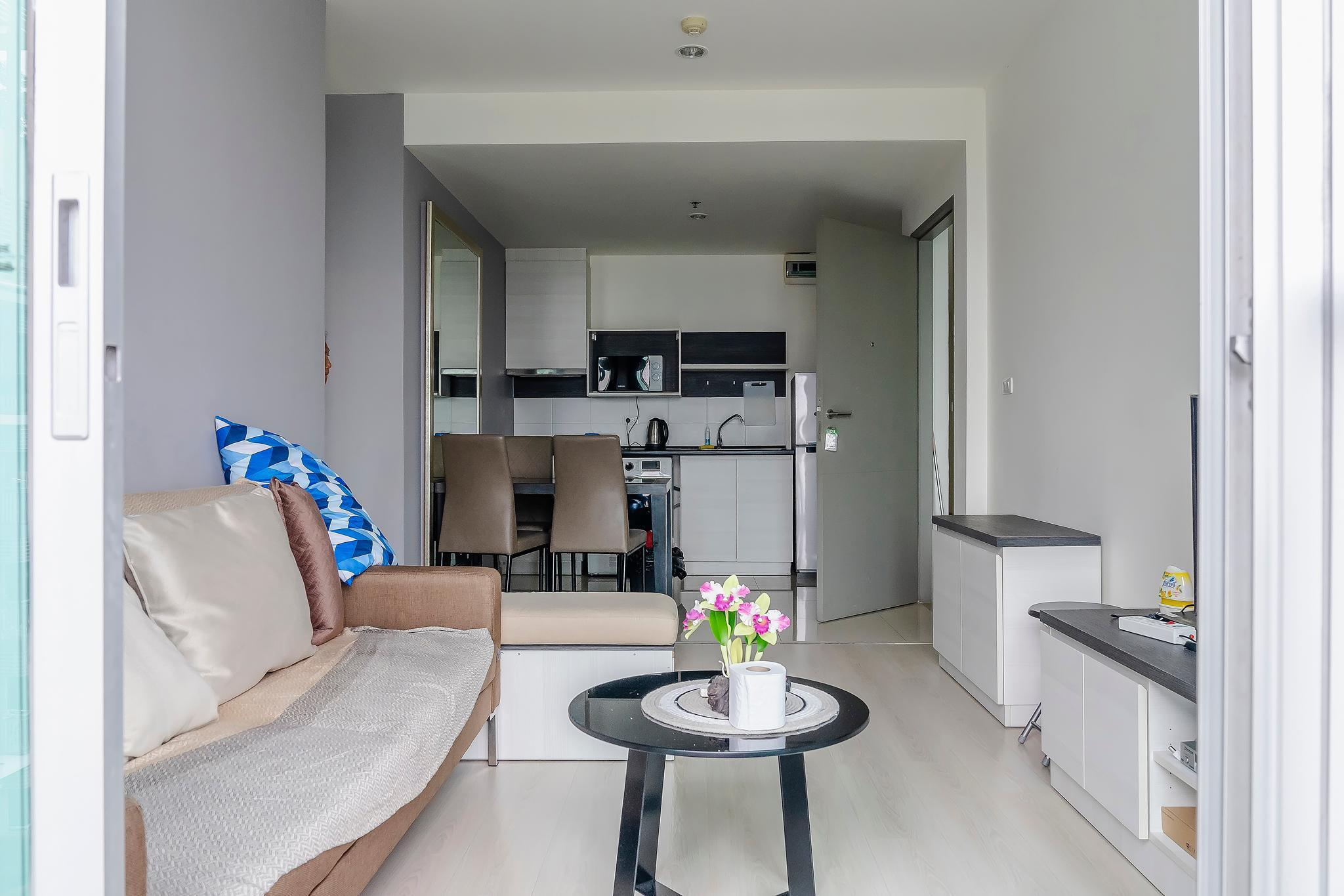 SKX&Luxury family room อพาร์ตเมนต์ 2 ห้องนอน 2 ห้องน้ำส่วนตัว ขนาด 60 ตร.ม. – รัชดาภิเษก