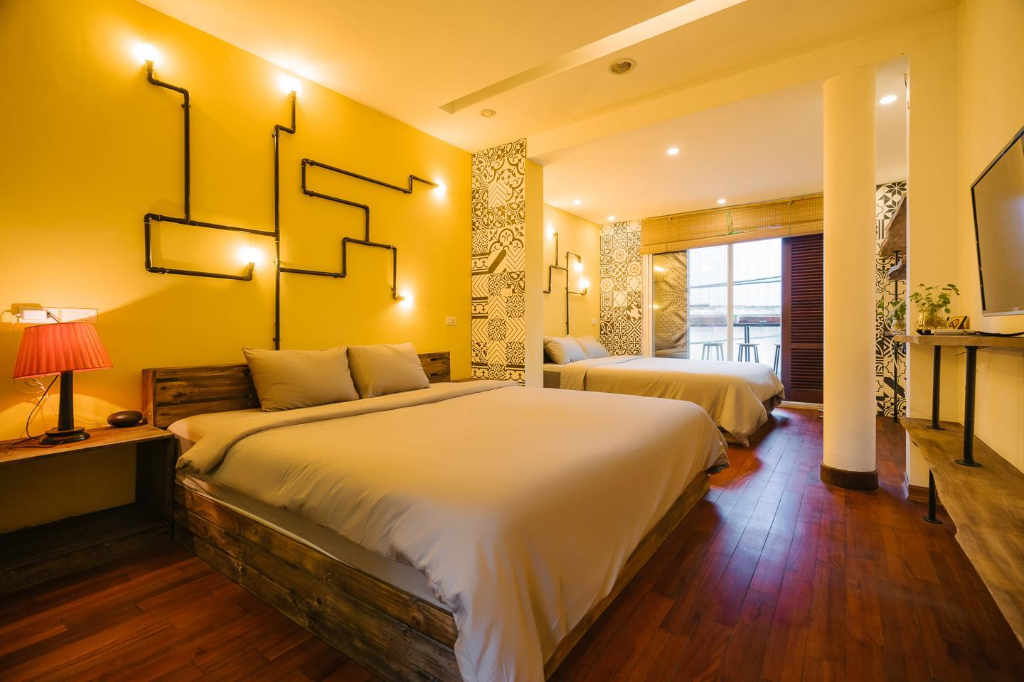Entire French house 4 bedrooms at Hanoi Downtown