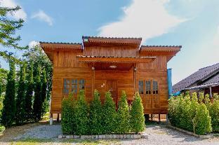 [ウィアンチャイ]バンガロー(48m2)| 2ベッドルーム/2バスルーム Cozy wood cabin for family in Chiangrai