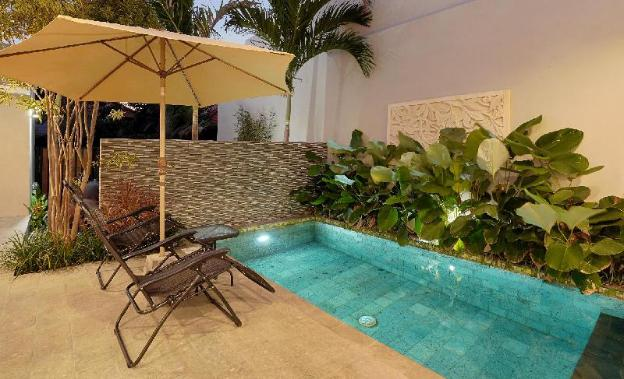 Sanur Villa is located in the quiet side of town