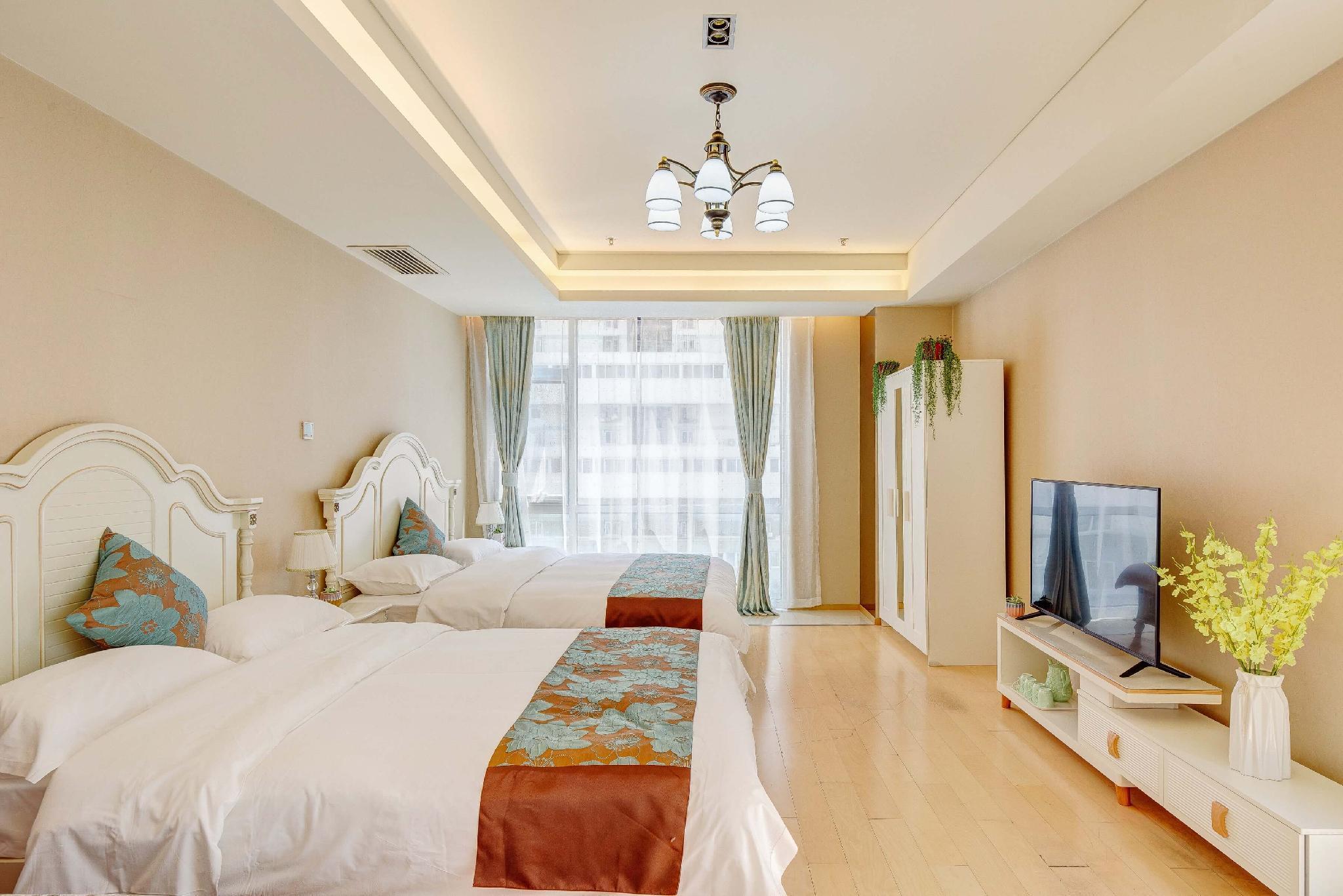Near Tiananmen Wangfujing Double Big Bed Room 3