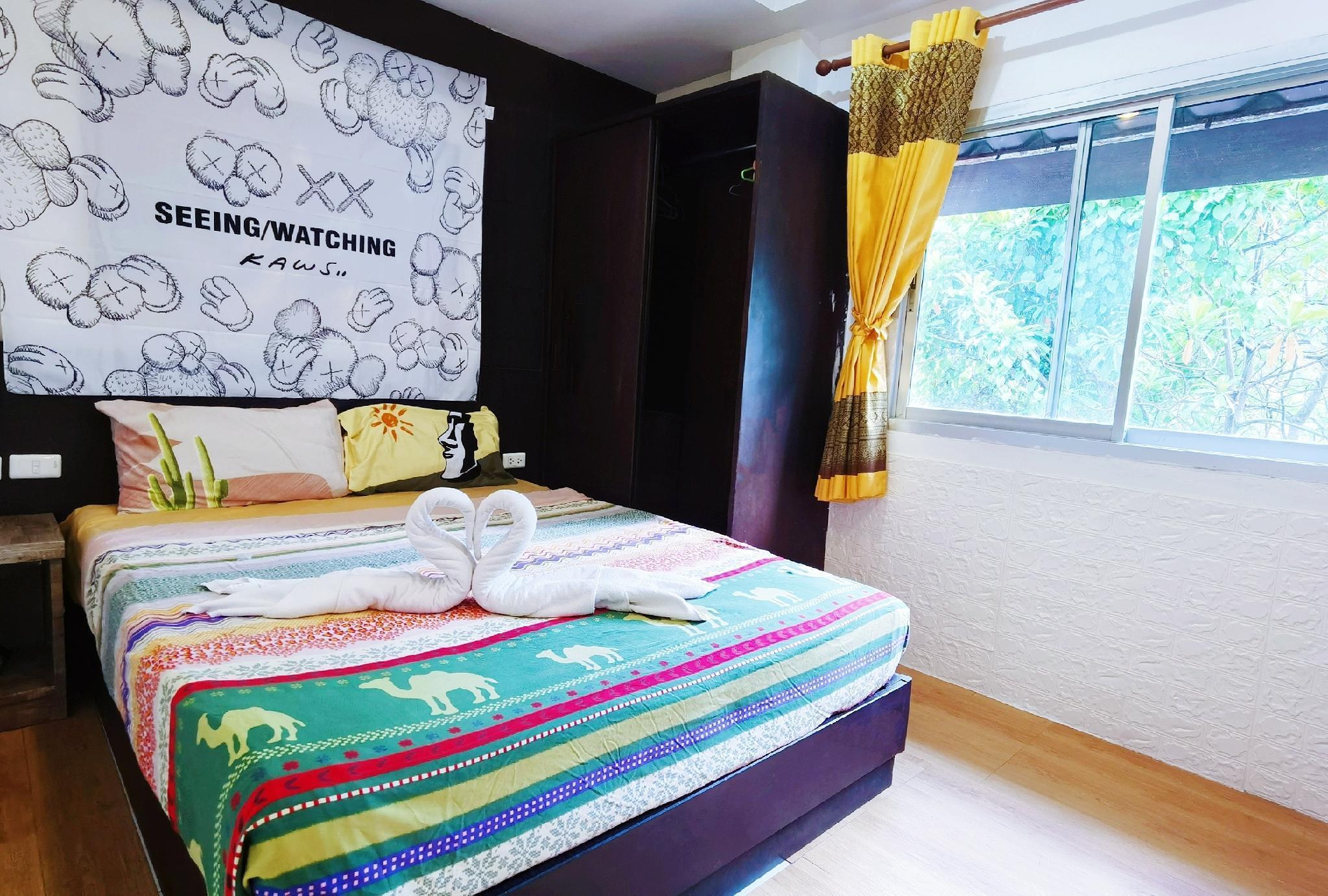 21Cheap Patong Beach Economy Room#Near Juncylon อพาร์ตเมนต์ 1 ห้องนอน 1 ห้องน้ำส่วนตัว ขนาด 22 ตร.ม. – ป่าตอง