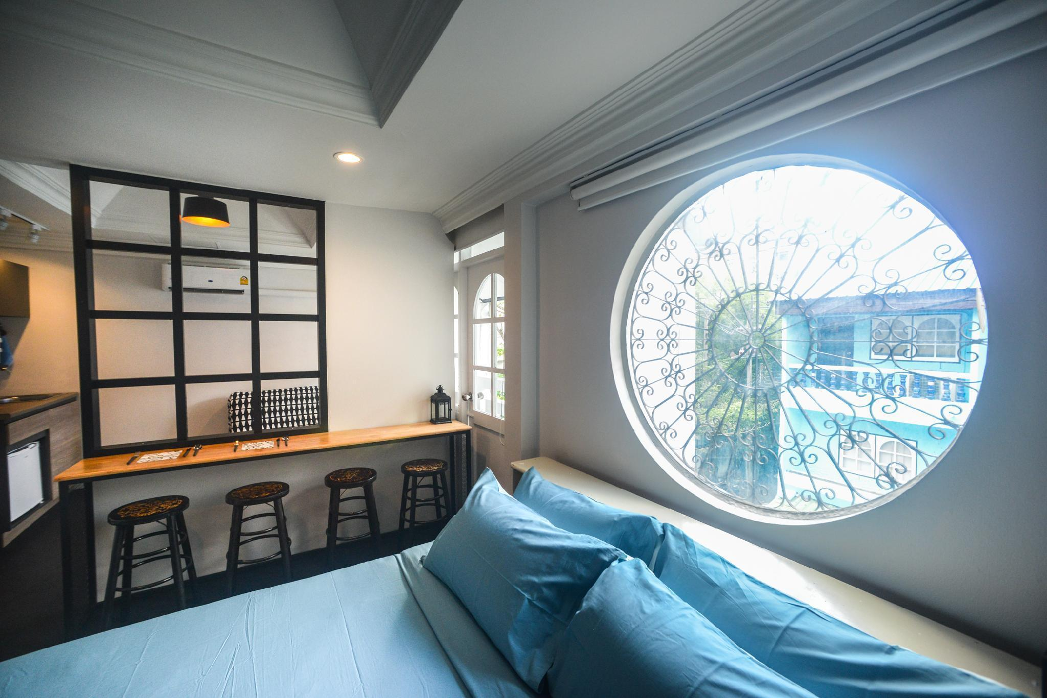 Unique Getaway/ 550m BTS(E5)/Near Asok+T21/Netflix สตูดิโอ อพาร์ตเมนต์ 1 ห้องน้ำส่วนตัว ขนาด 24 ตร.ม. – สุขุมวิท