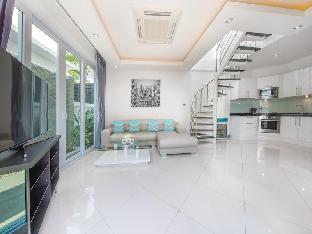 [ジョムティエンビーチ]ヴィラ(120m2)| 2ベッドルーム/2バスルーム COLIBRI Pool Villa Pattaya 2 BR Palm Oasis Village