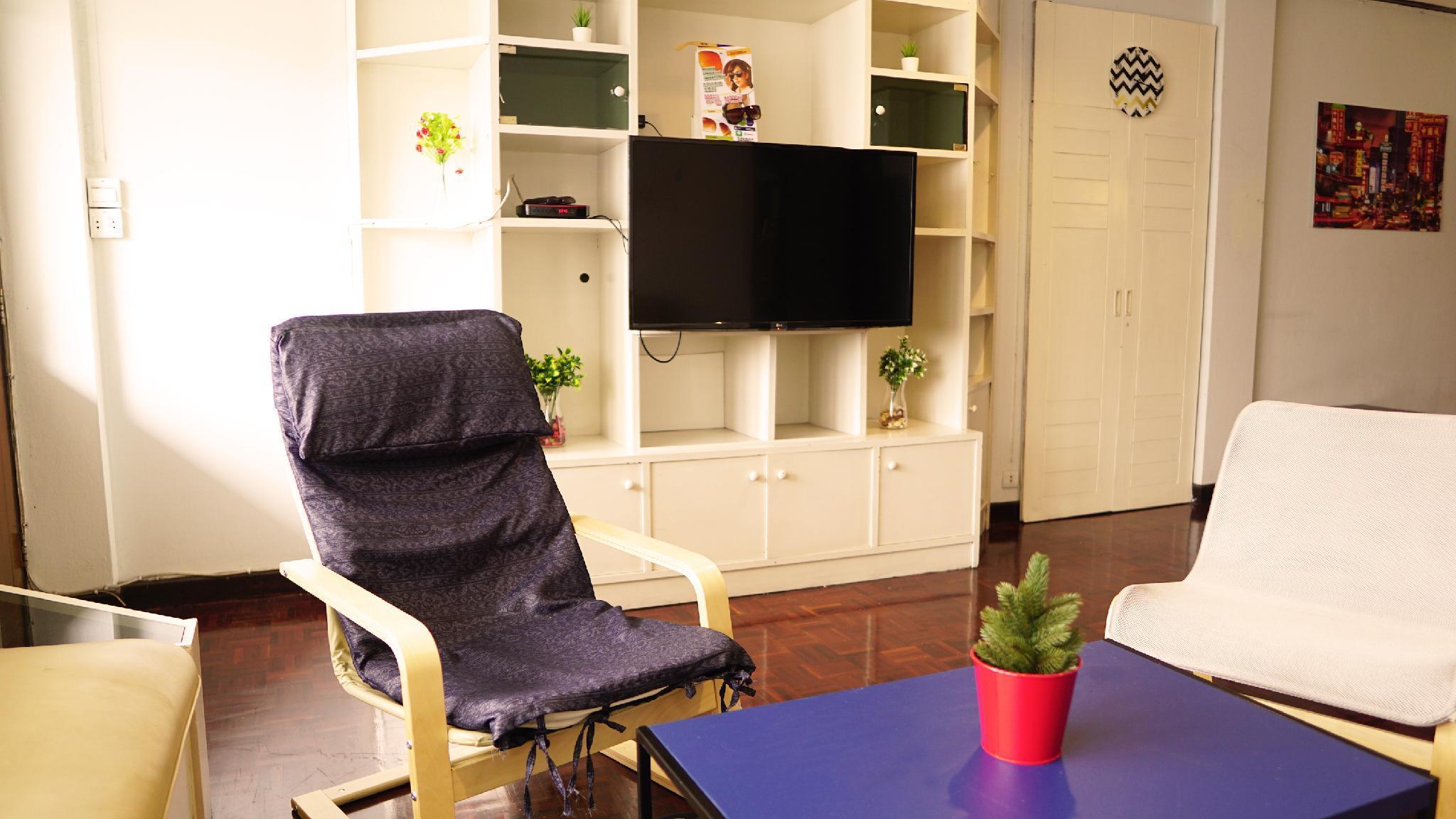 RP Place apartment, large 2 bedrooms for family อพาร์ตเมนต์ 2 ห้องนอน 1 ห้องน้ำส่วนตัว ขนาด 100 ตร.ม. – จตุจักร