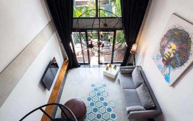 B23 1Bedroom Loft Cafe, Shops Nearby Seminyak