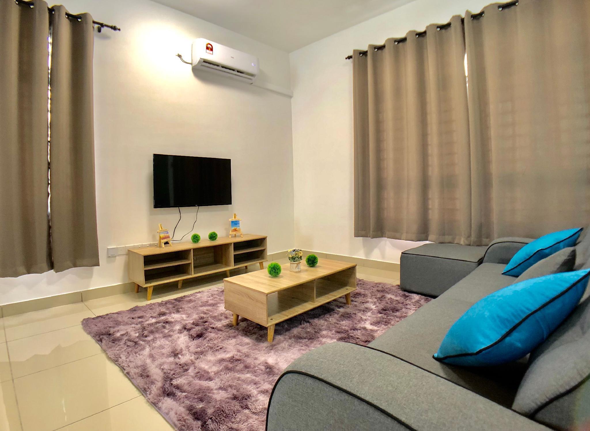 Cozy Homestay Desaru 4 Bedroom  10min To Waterpark