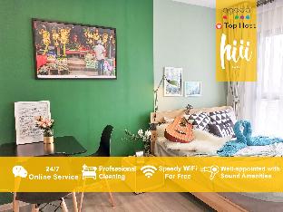 [トンブリー]アパートメント(30m2)| 1ベッドルーム/1バスルーム [hiii]Oz'sGarden*Pool*GrandPalace&KhaoSanRd-BKK209