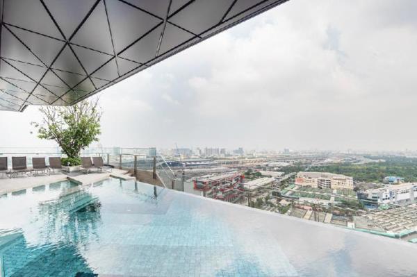 Sky Pool&Cityscape, 2BR Family/Chatuchak Market Bangkok