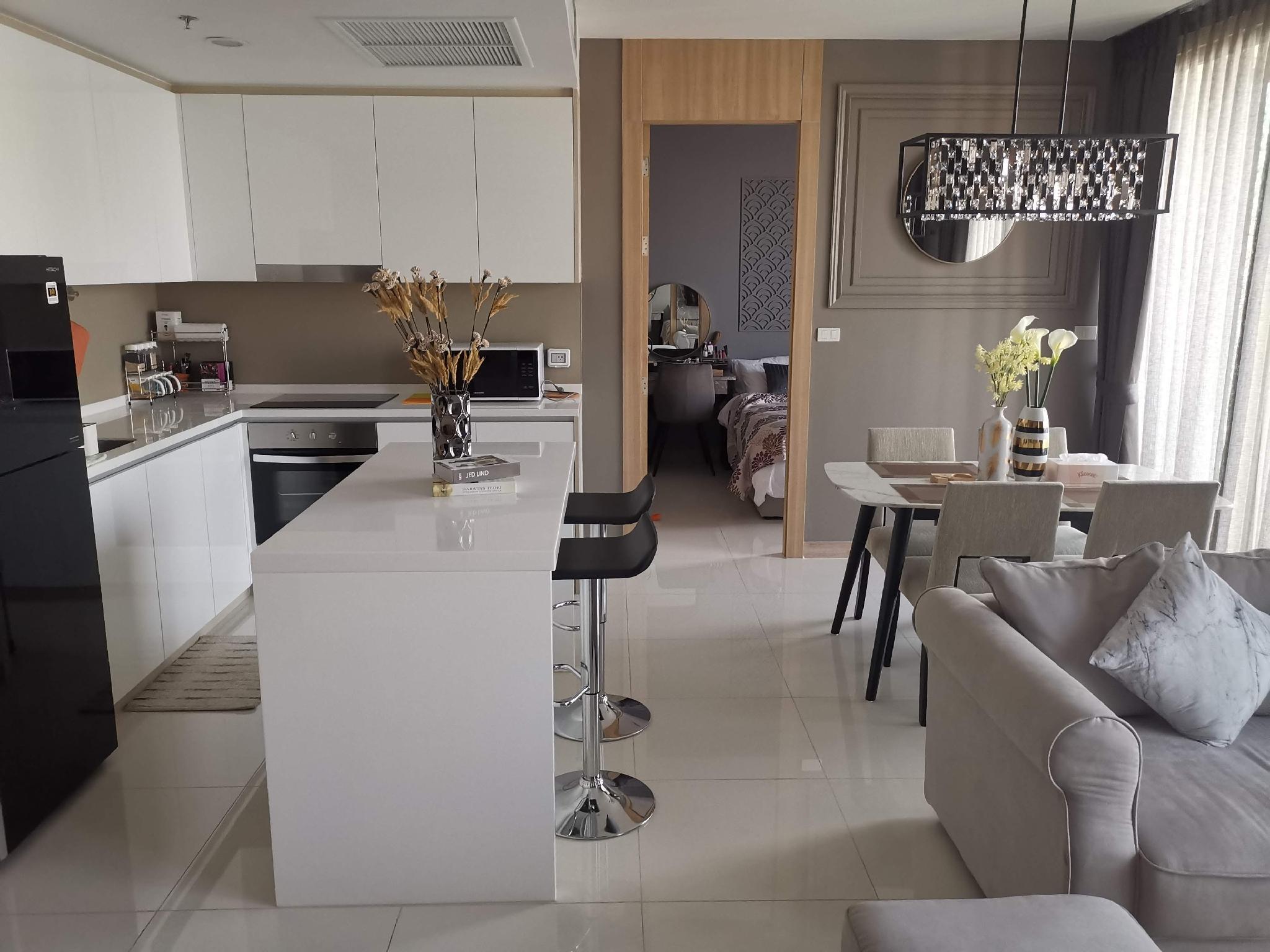 Fantastic Direct Sea View 2BR @ Luxurious Riviera อพาร์ตเมนต์ 2 ห้องนอน 2 ห้องน้ำส่วนตัว ขนาด 78 ตร.ม. – หาดวงอมาตย์