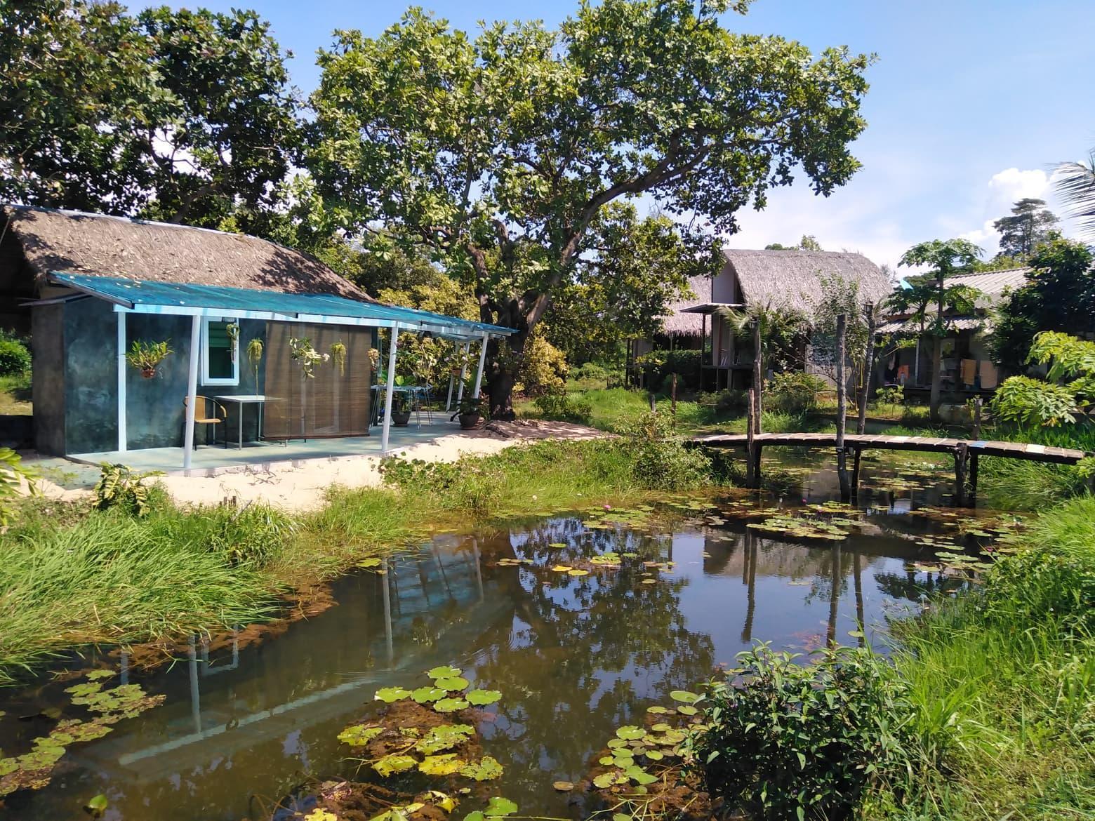 Terraria Koh Mak walks 5 minutes to Beach บังกะโล 1 ห้องนอน 1 ห้องน้ำส่วนตัว ขนาด 140 ตร.ม. – อ่าว ตา ลอง