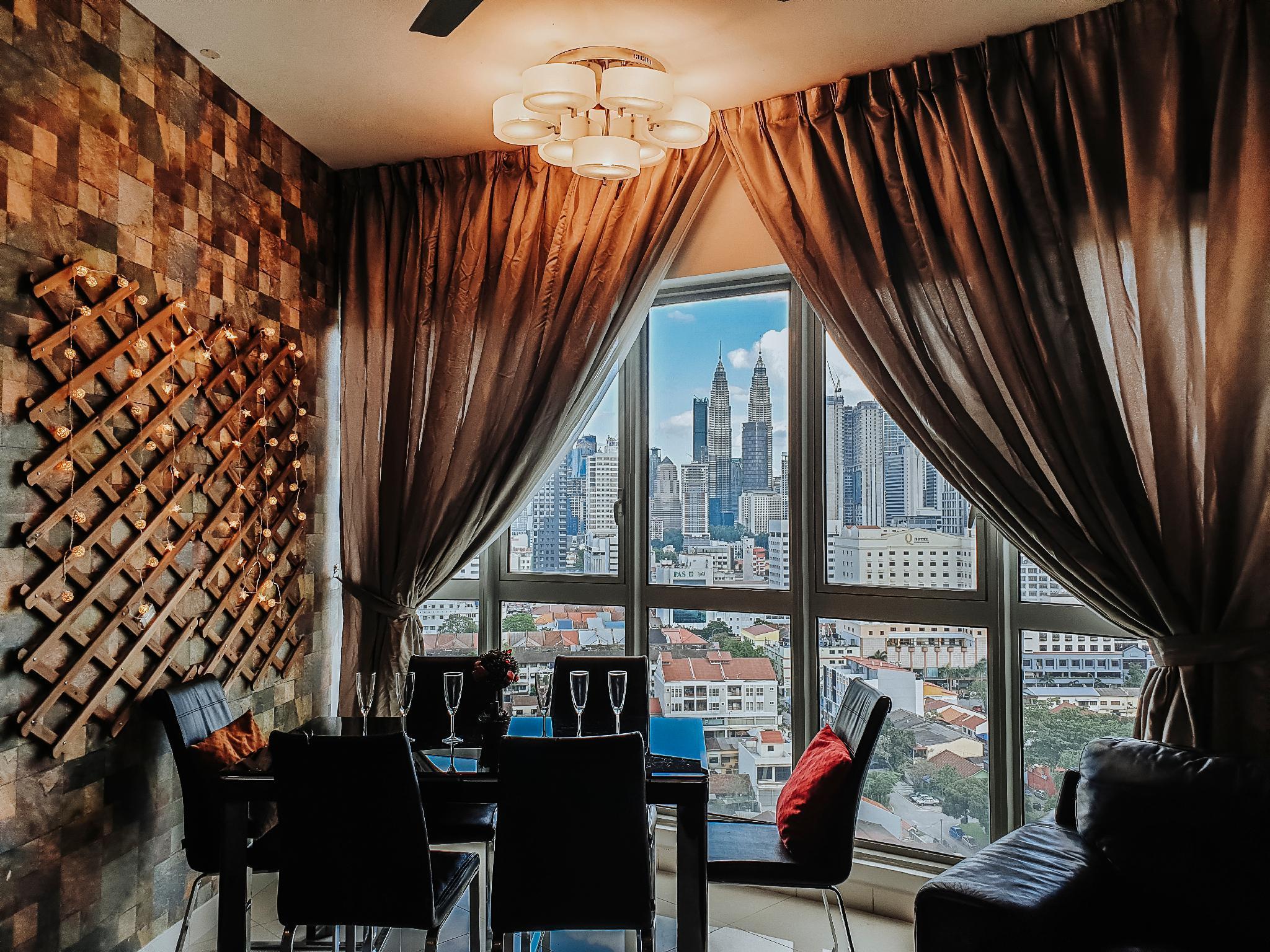 3Bedroom Stunning Infinity Pool@Kuala Lumpur KLCC