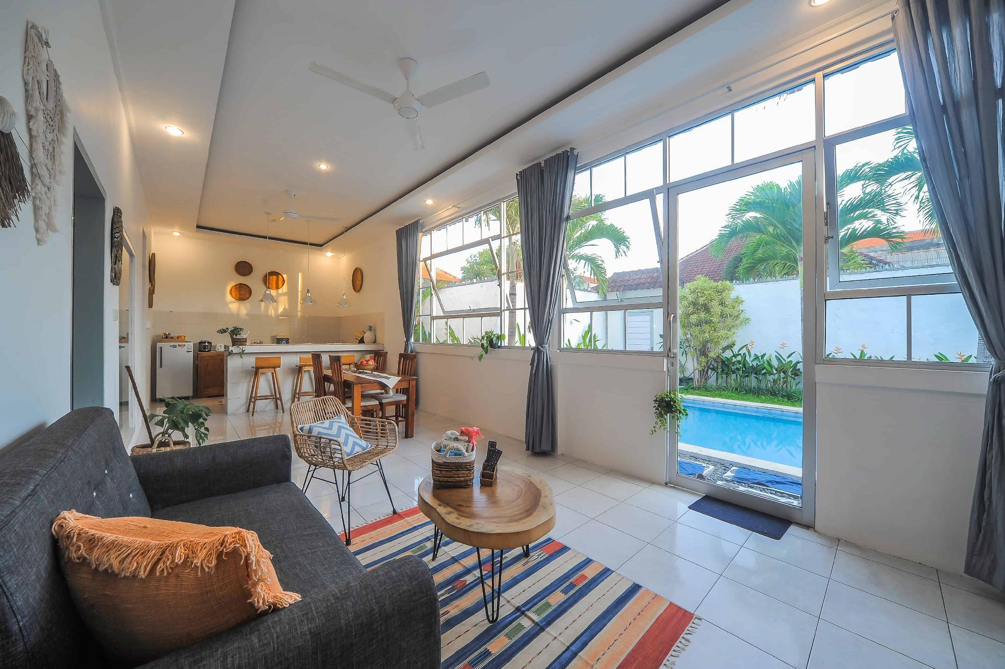 3 BR Tropical Designed Villa Near Seminyak