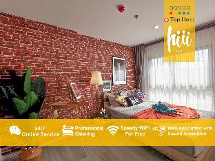 [トンブリー]アパートメント(30m2)| 1ベッドルーム/1バスルーム [hiii]Galleria*Pool*GrandPalace&KhaoSanRd-BKK207