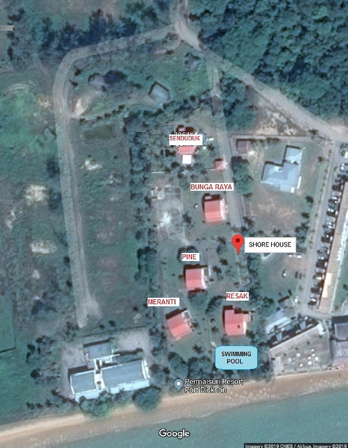 SHORE HOUSE   BUNGA RAYA