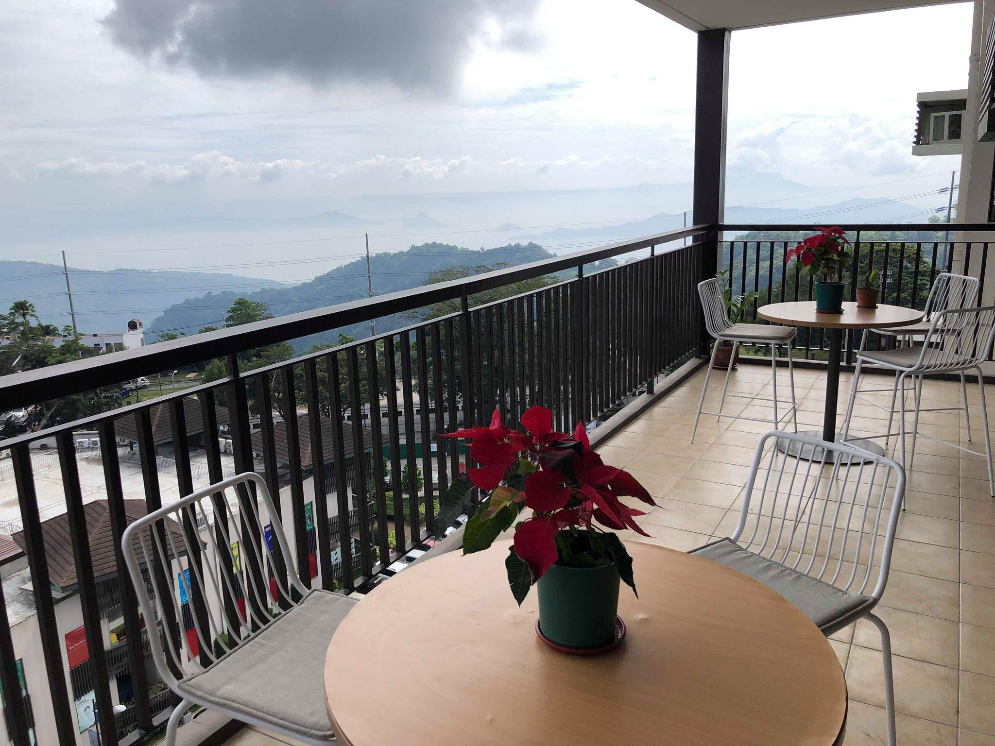 Chill @ 10F Serin Tagaytay - 2BR w/ balcony condo
