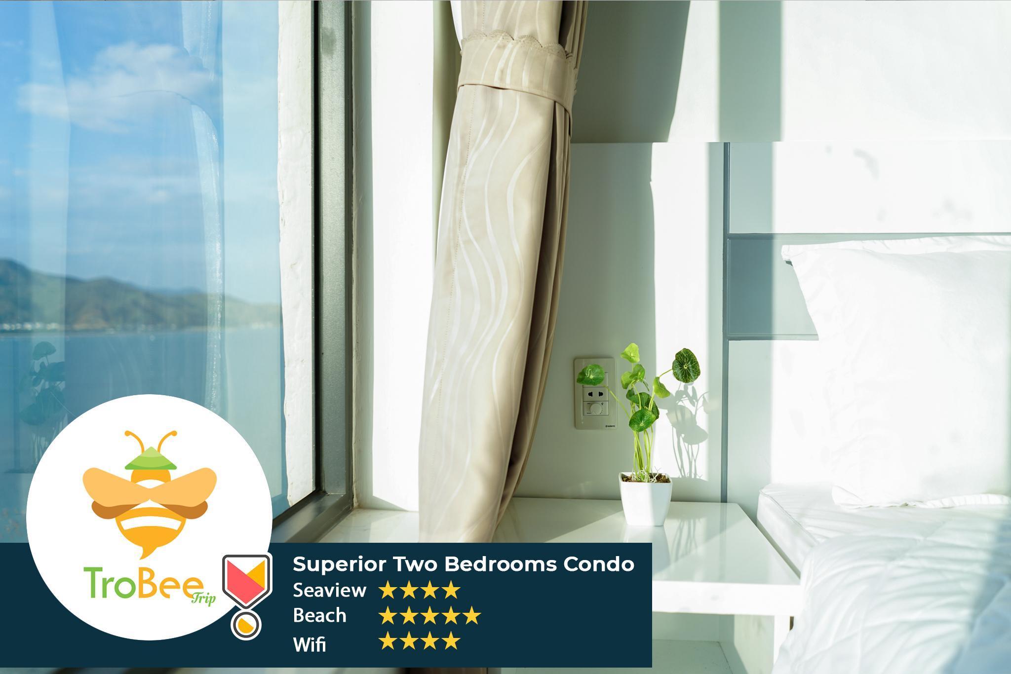Free PickUp Superior Seaview  2BR @TROBEE CONDOS