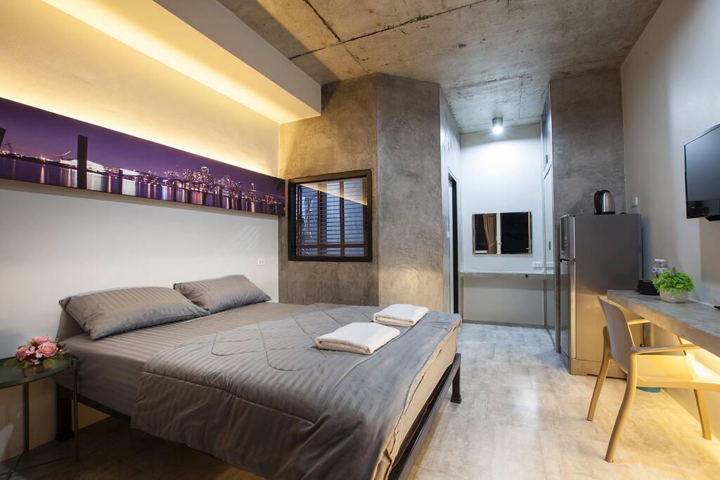 Be Live - modern loft room no 1 1 ห้องนอน 1 ห้องน้ำส่วนตัว ขนาด 30 ตร.ม. – อำเภอถลาง