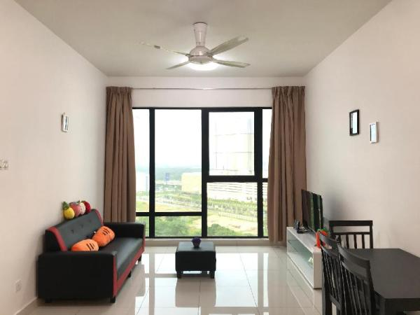 MidValley JB-SweetFruity 2Rooms Apt-fit up to 6pax Johor Bahru