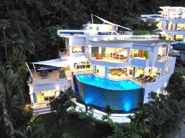 Villa Beyond 7 Bedroom FullyStaffed OceanViewVilla Phuket