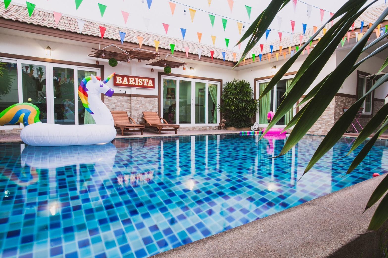Baan Pool Villa05 (Pattaya-Nong Hin) วิลลา 3 ห้องนอน 3 ห้องน้ำส่วนตัว ขนาด 400 ตร.ม. – เขาตาโล