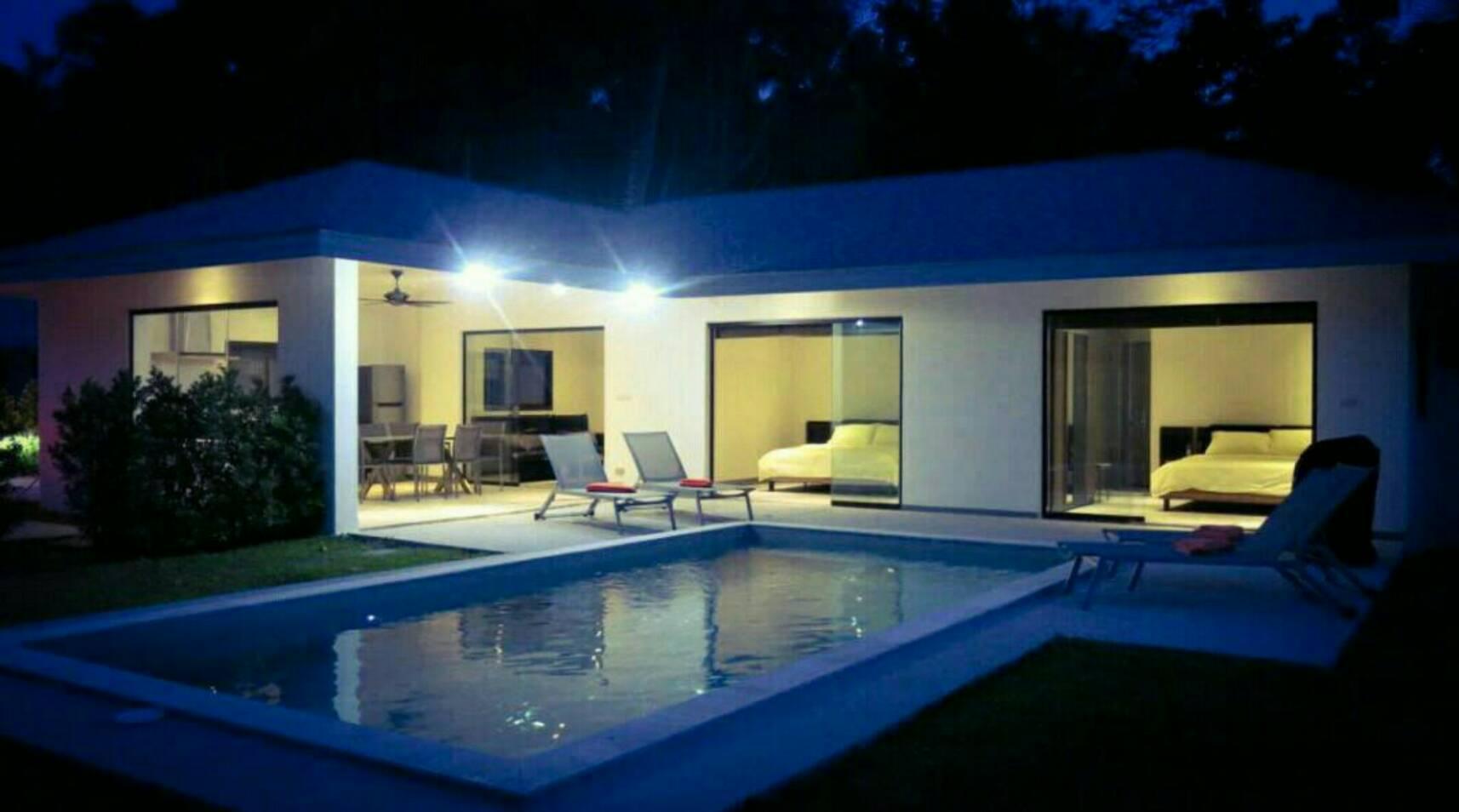 Maprao Villa 3 วิลลา 3 ห้องนอน 3 ห้องน้ำส่วนตัว ขนาด 532 ตร.ม. – แม่น้ำ
