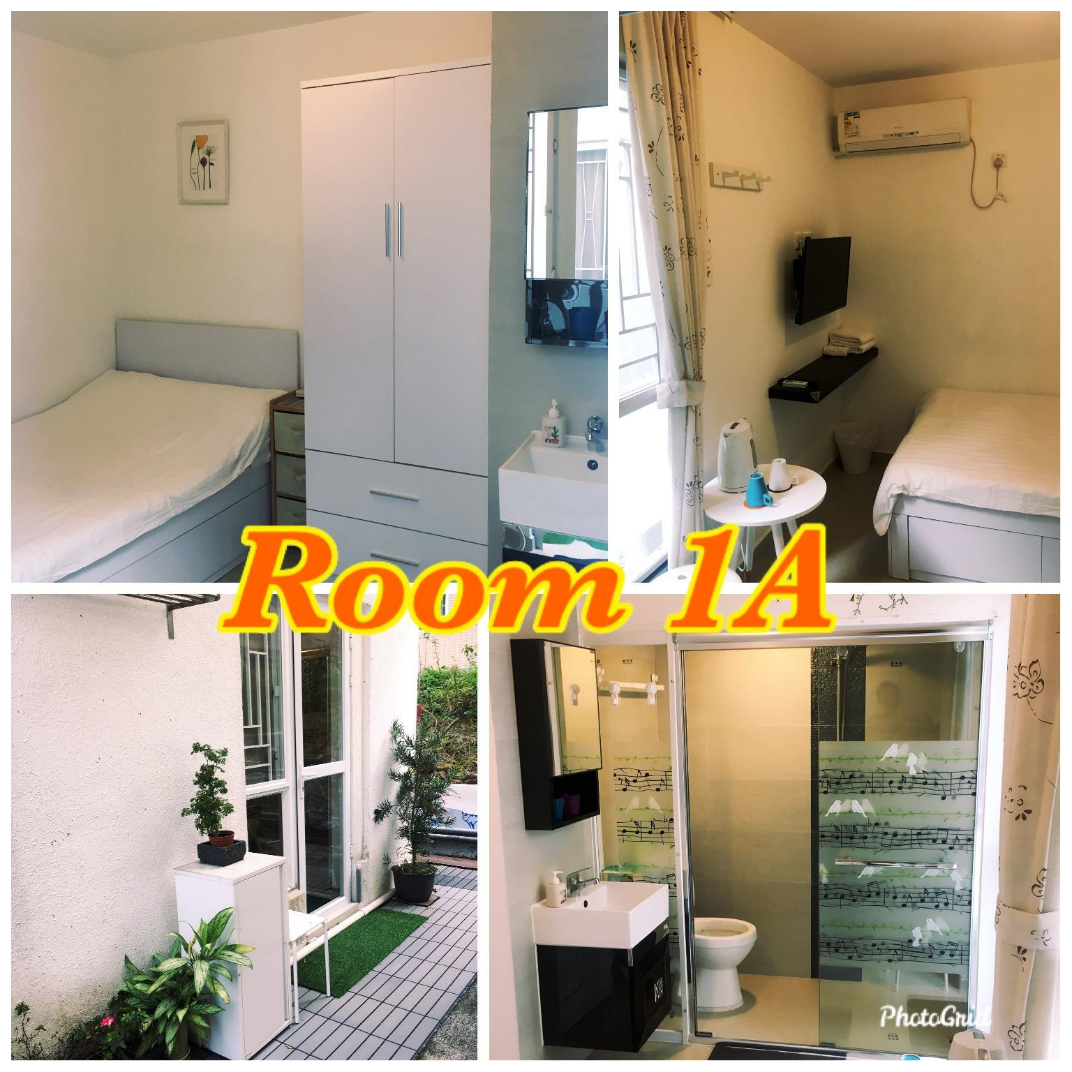 Comfortable  Double Bed Room in Tung Chung