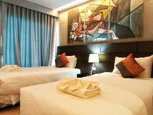 Room size 25 double beds AD.RESORT Cha-am/Hua-hin อพาร์ตเมนต์ 1 ห้องนอน 1 ห้องน้ำส่วนตัว ขนาด 25 ตร.ม. – ชายหาดชะอำ