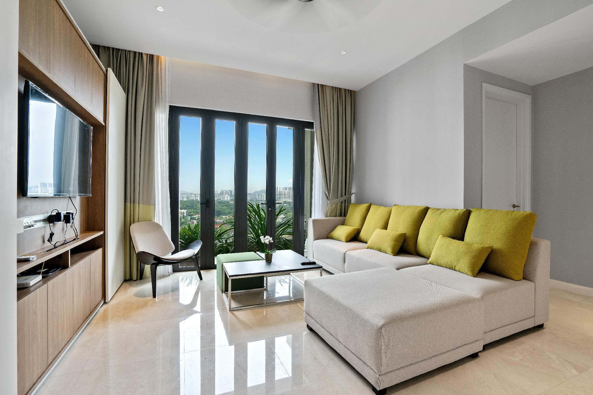 Spacious And Stylish Two Bedroom Haven Near KLCC
