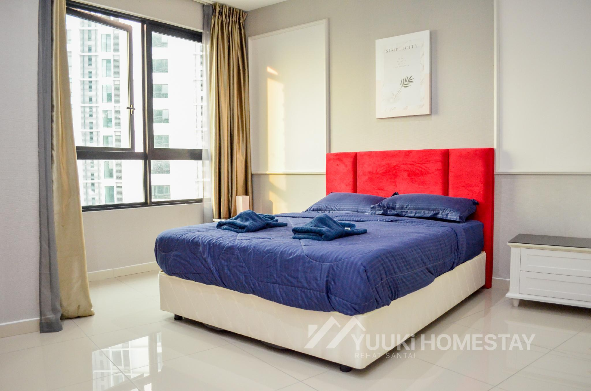 I City @ I Soho 1 BEDROOM @Yuuki Homestay  013U