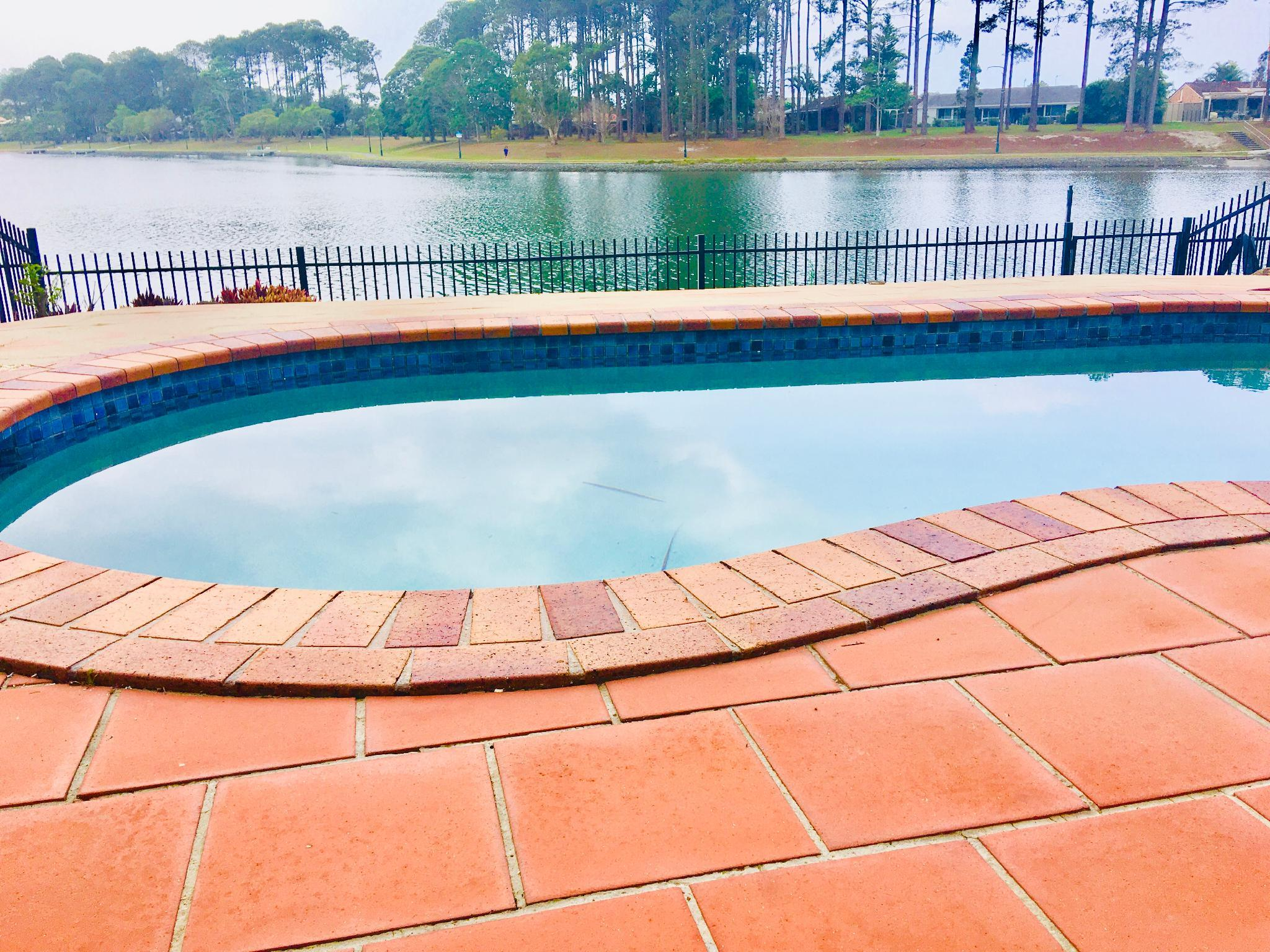 Huge Waterfront Townhouse With Private Pool.
