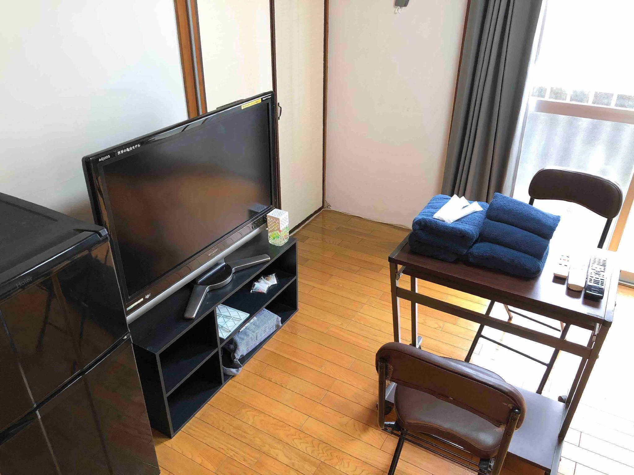 Japanese ModernRoom With Kitchen And Bathroom 2103
