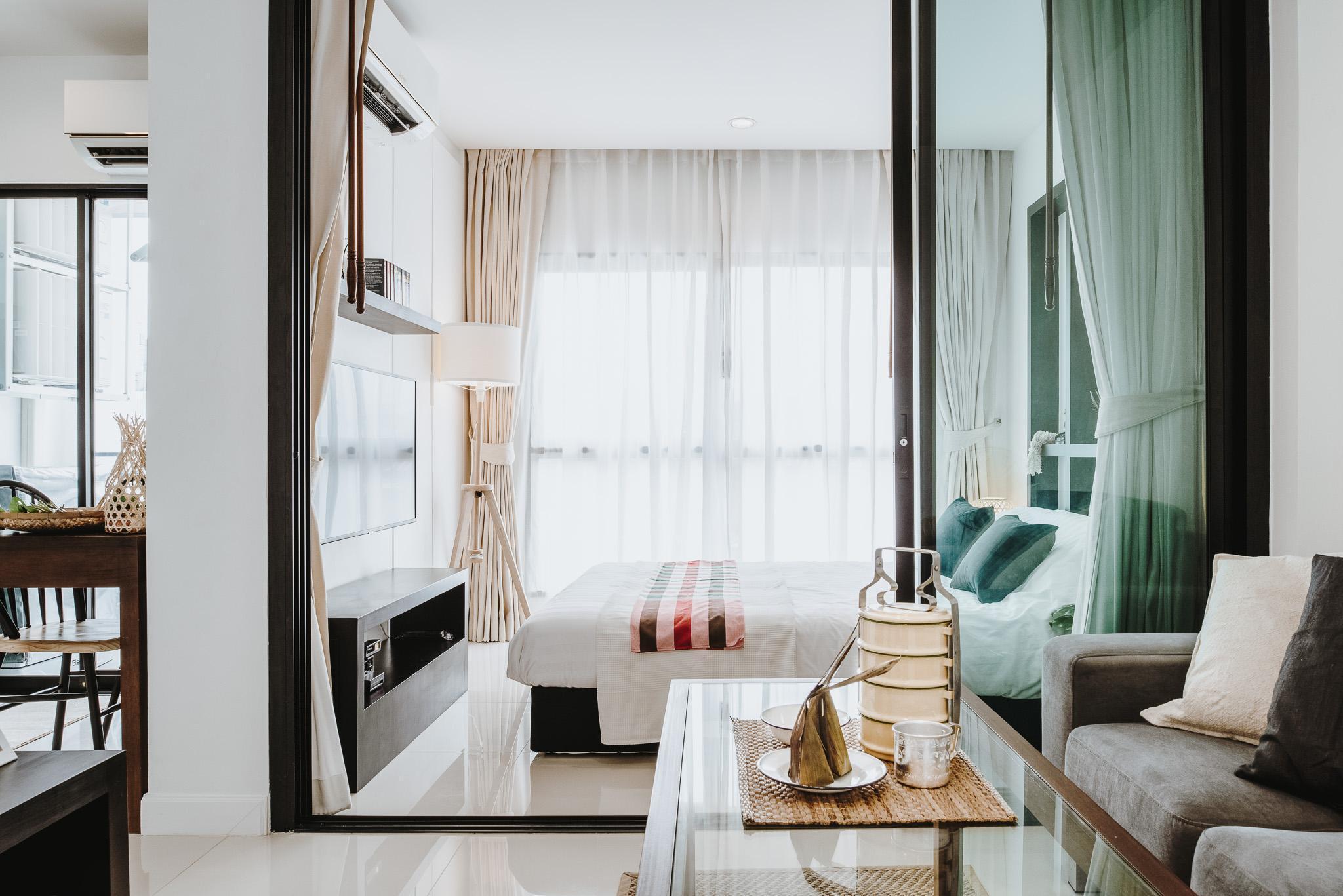Siamplaengna Residence อพาร์ตเมนต์ 1 ห้องนอน 1 ห้องน้ำส่วนตัว ขนาด 26 ตร.ม. – รัชดาภิเษก