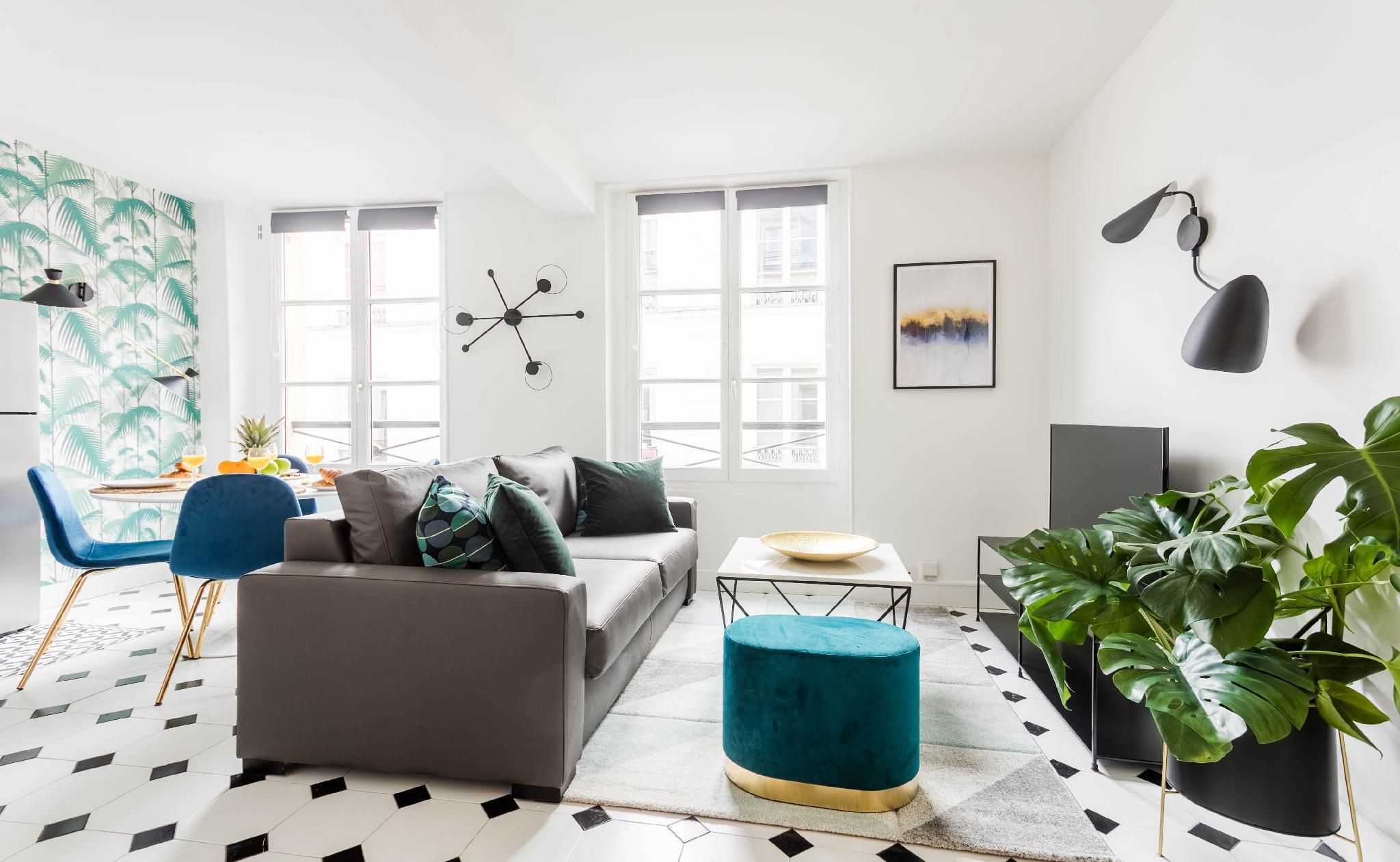 THE HEART OF LE MARAIS- GRACEFUL 1BR APARTMENT