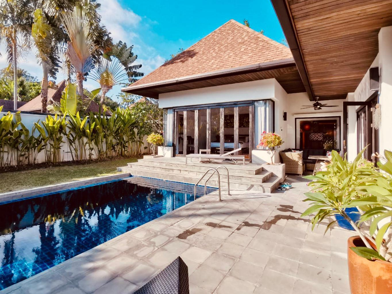 2 BDR Greenery Pool Villa Rawai-Naiharn วิลลา 2 ห้องนอน 2 ห้องน้ำส่วนตัว ขนาด 460 ตร.ม. – ในหาน