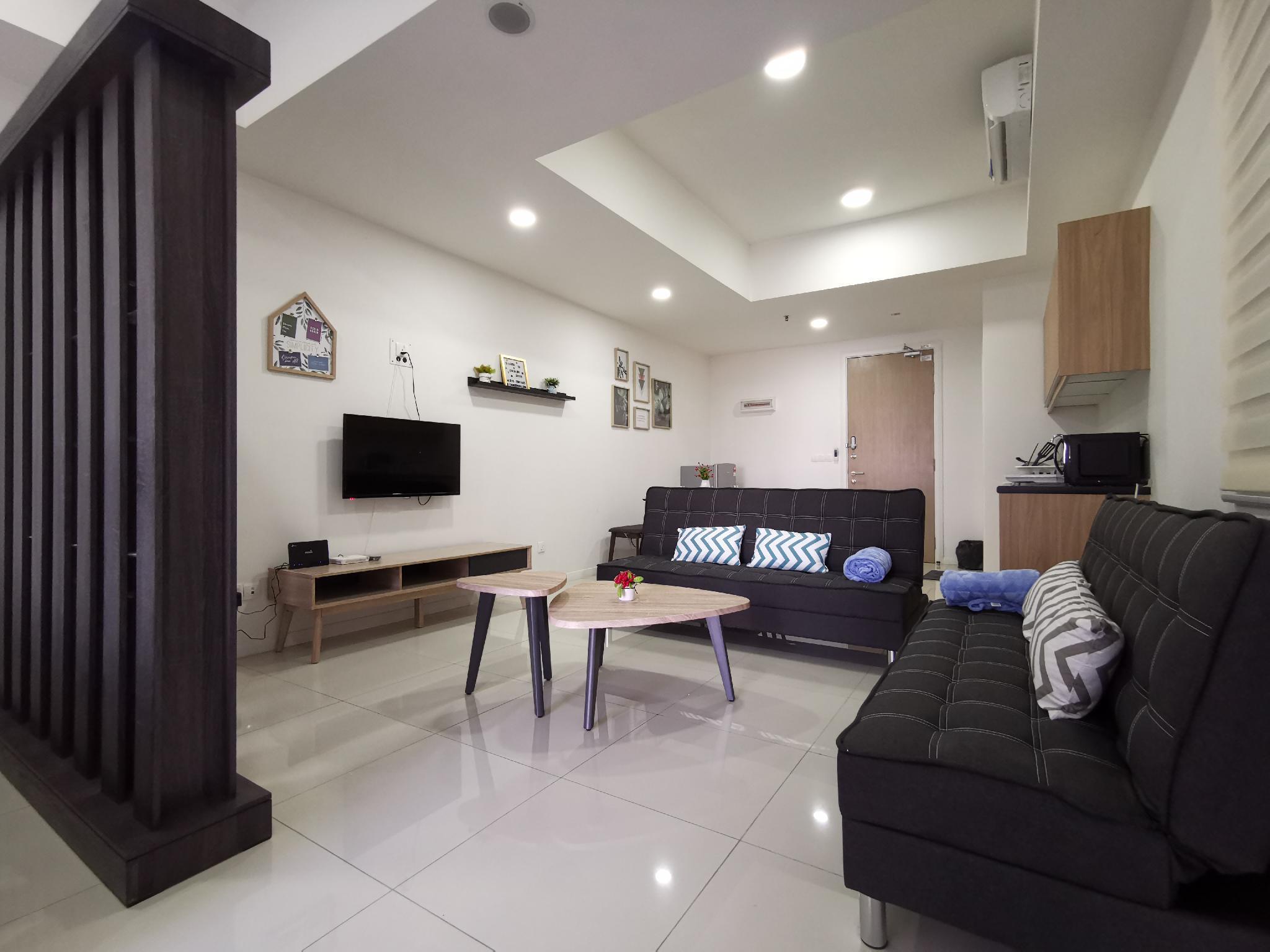Garden View Studio Apartment {4Pax}