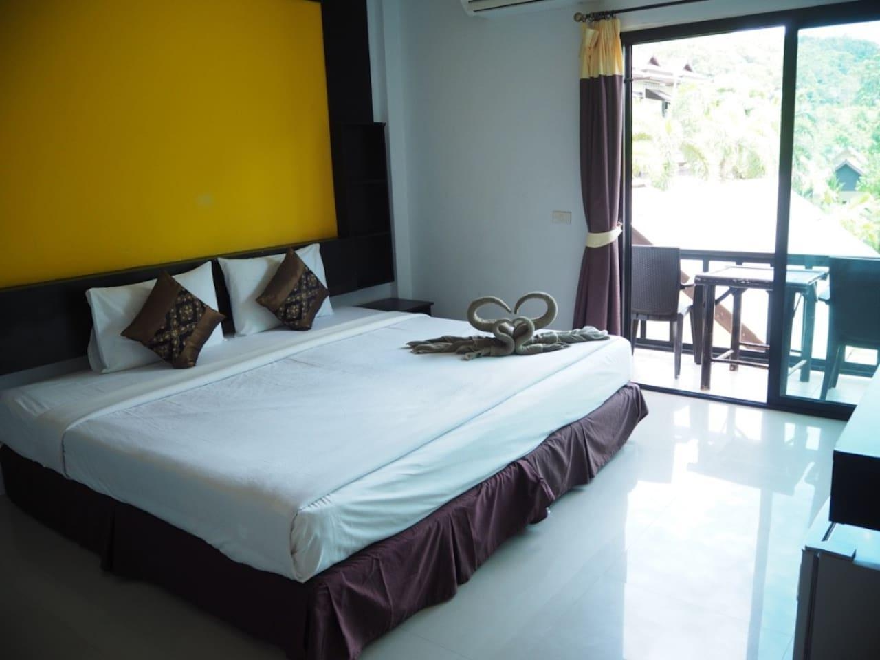 Cosy standard room near beach on Phi Phi วิลลา 1 ห้องนอน 1 ห้องน้ำส่วนตัว ขนาด 100 ตร.ม. – อ่าวต้นไทร