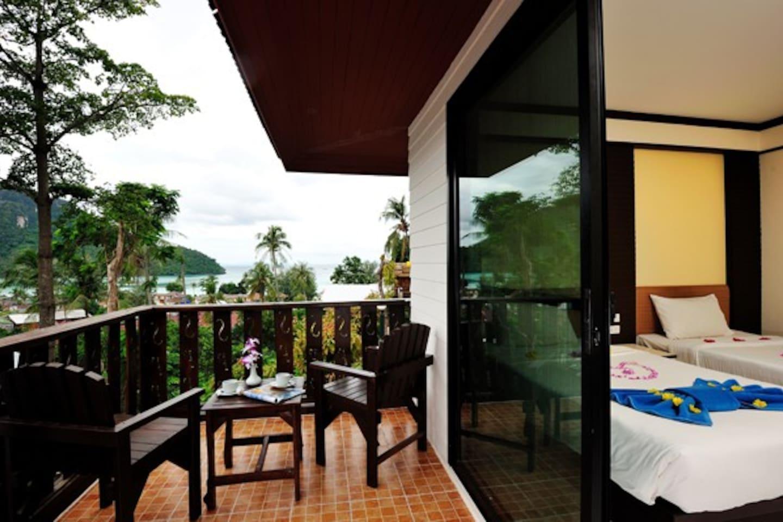 Beautiful Superior room - double or twin beds อพาร์ตเมนต์ 1 ห้องนอน 1 ห้องน้ำส่วนตัว ขนาด 42 ตร.ม. – อ่าวโละดาลัม