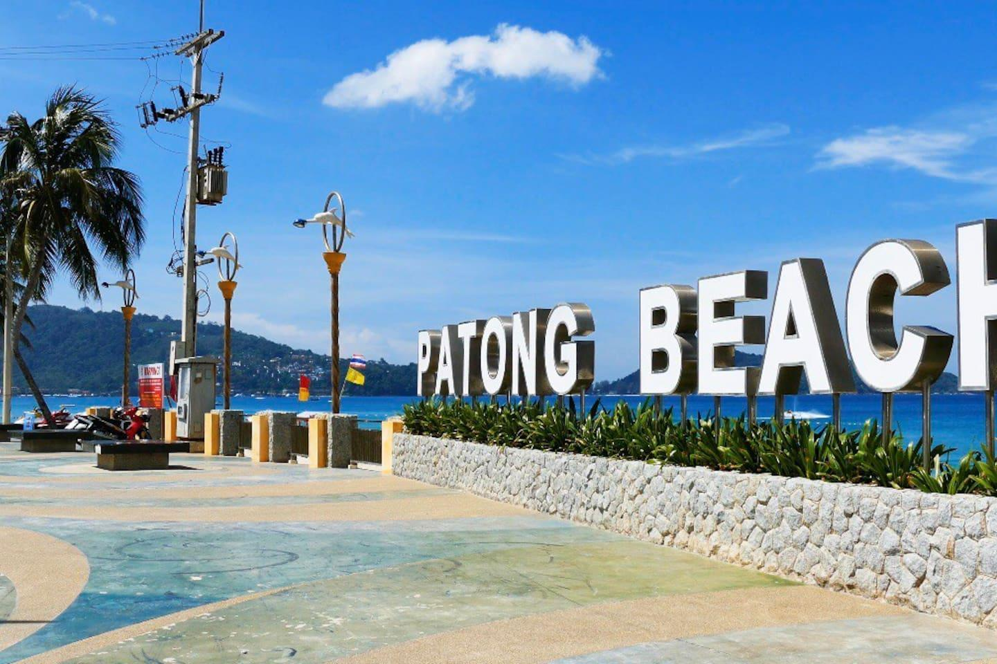 Good Location Walk 200 Meters To Patong Beach