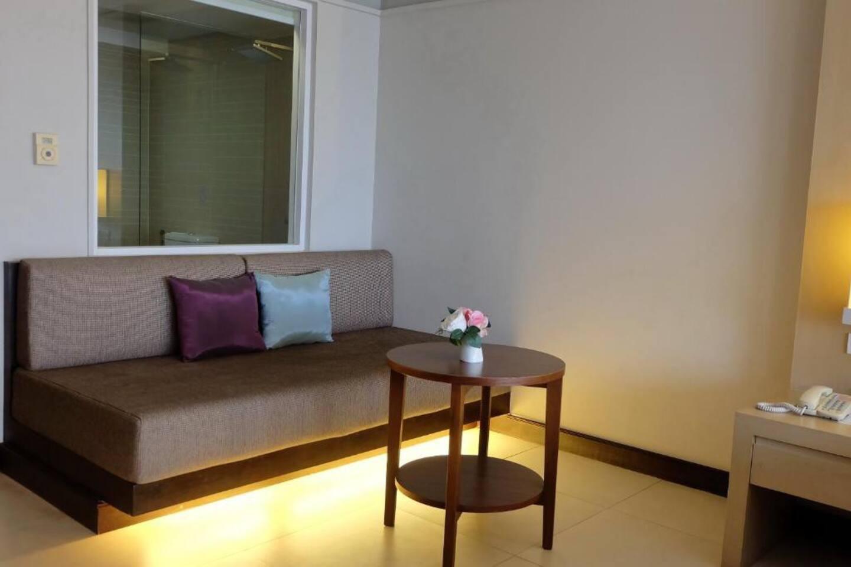 Stylish Deluxe room in Trang อพาร์ตเมนต์ 1 ห้องนอน 2 ห้องน้ำส่วนตัว ขนาด 52 ตร.ม. – ตรังซิตี้เซนเตอร์