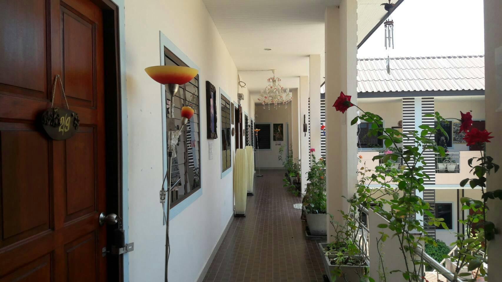 Ban Suan Kularb Surat Thani Fan Room 2